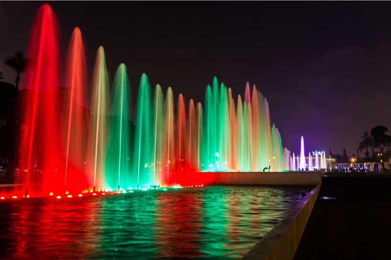 Circuito Mágico das Águas em Lima
