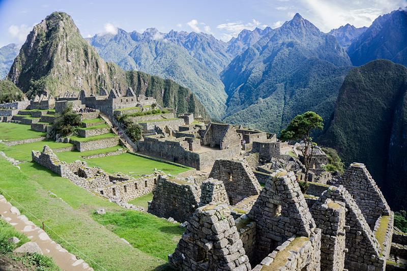 Beleza de Machu Picchu no Peru