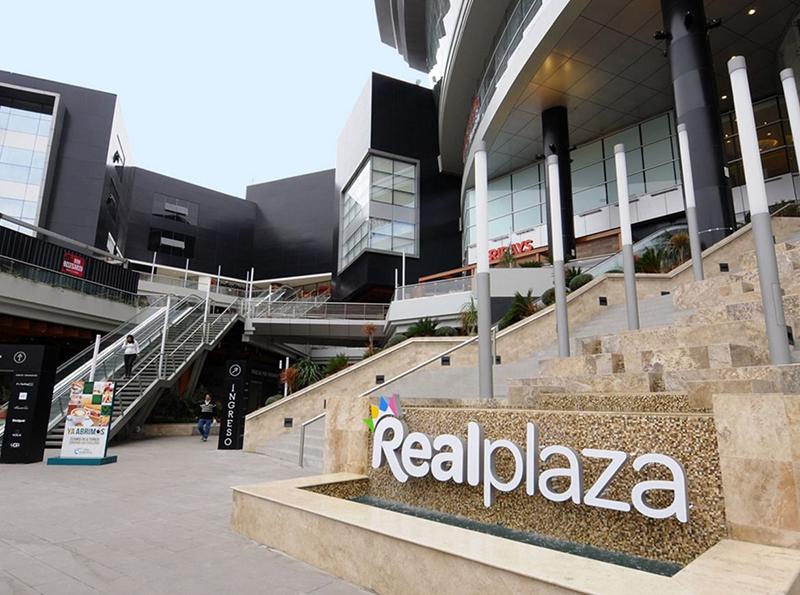 Shopping Real Plaza em Lima