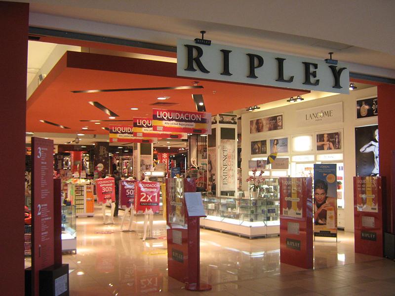 Rede de lojas Ripley em Lima