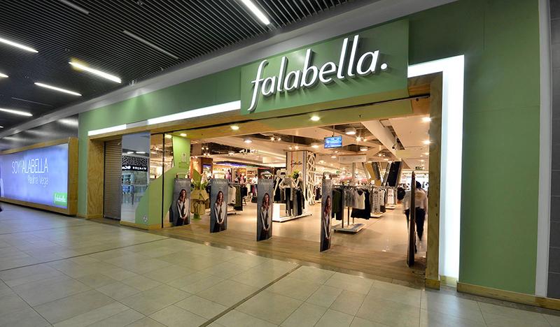 Rede de lojas Saga Falabella em Lima