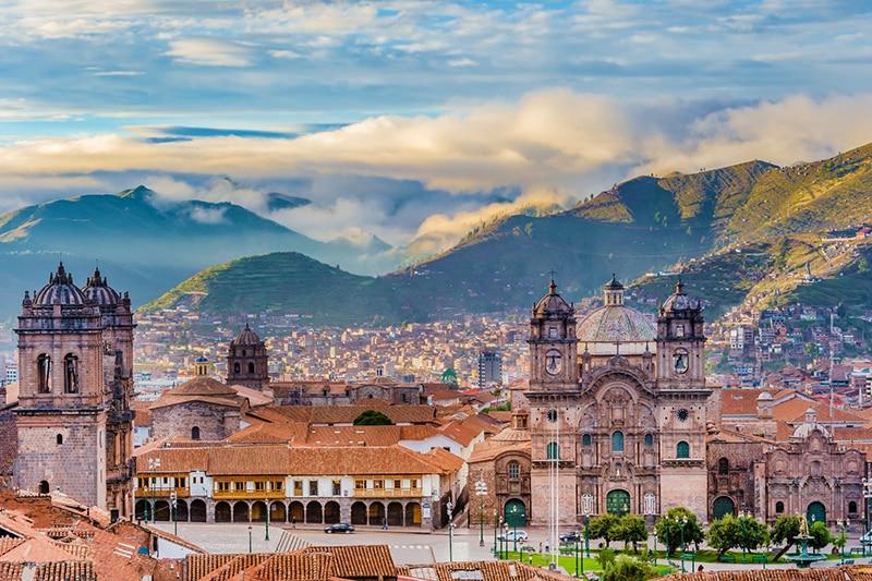 Cusco no Peru