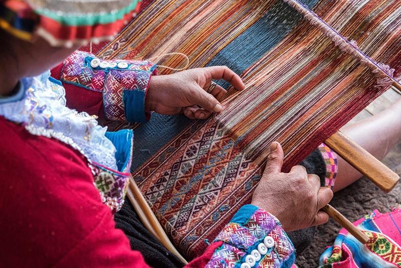 Artesanato do povo peruano