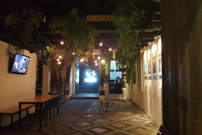 Bar Microteatro em Lima