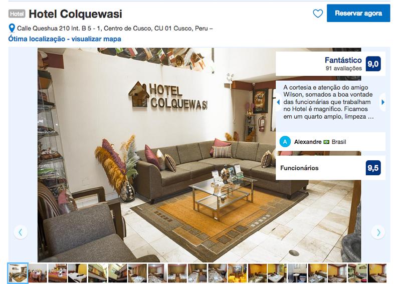 Hotel Colquewasi em Cusco