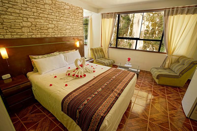 Suíte do Hotel Machu Picchu Adventure House