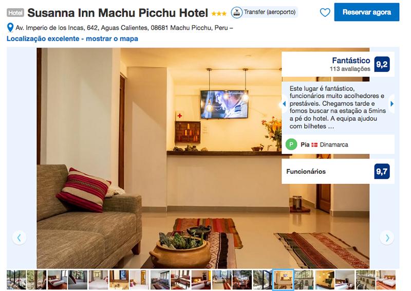 Susanna Inn Machu Picchu Hotel