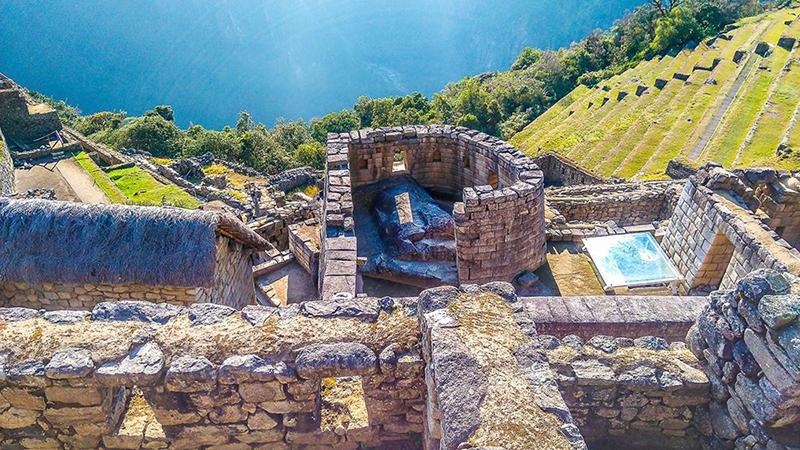 Templo do Sol em Machu Picchu