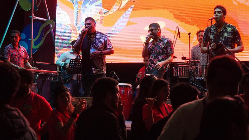 Balada ElCocodriloVerde em Lima
