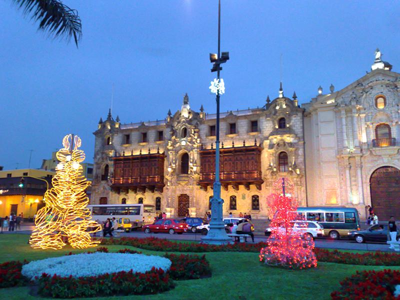 Natal em Lima