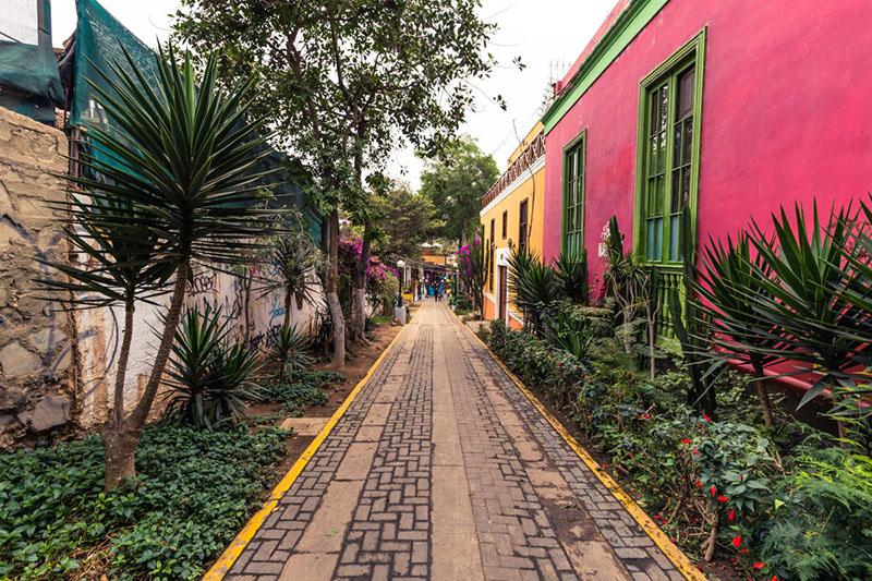 Bajada de los Baños em Lima