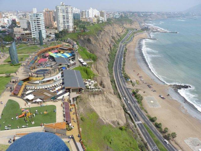 Bairro de Miraflores em Lima