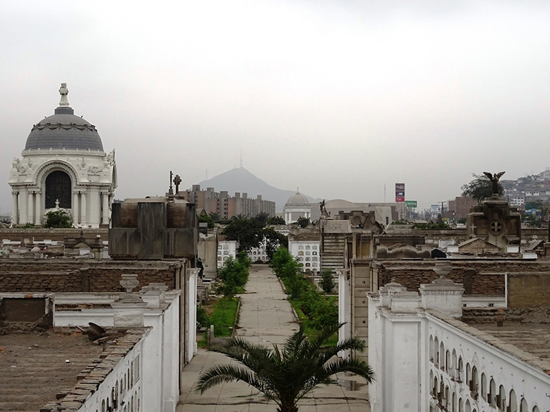Cemitério Presbítero Maestro em Lima
