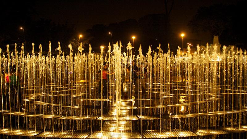 Fontes do Circuito Mágico das Águas em Lima