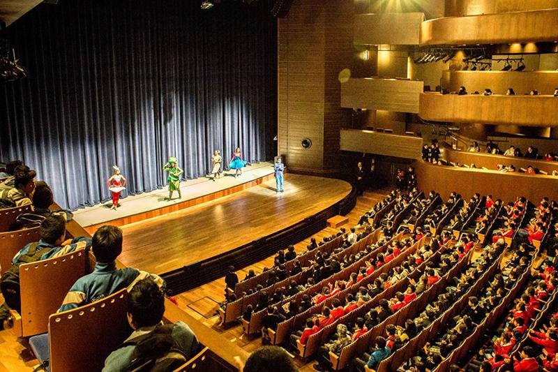 Apresentação no Gran Teatro Nacional em Lima