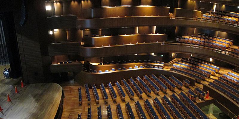 Sala principal do Gran Teatro Nacional em Lima