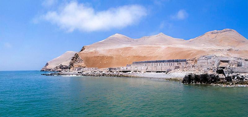 Isla El Fronton em Lima