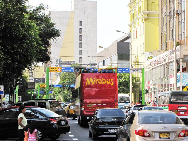Trânsito em Lima