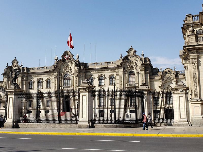 Palácio de Governo em Lima