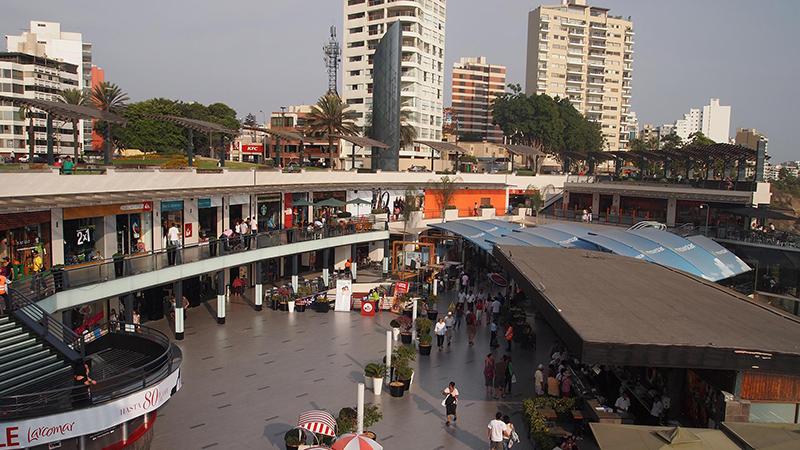 Shopping Larcomar em Lima