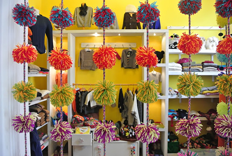 Lojas do shopping Larcomar