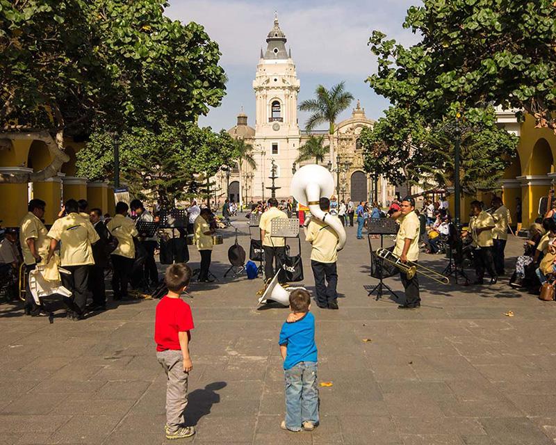 O que fazer com crianças em Lima