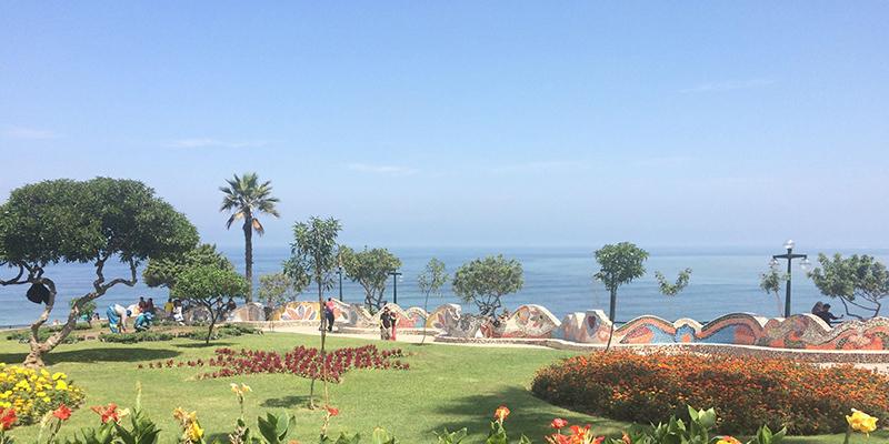 Parque do Amor em Lima