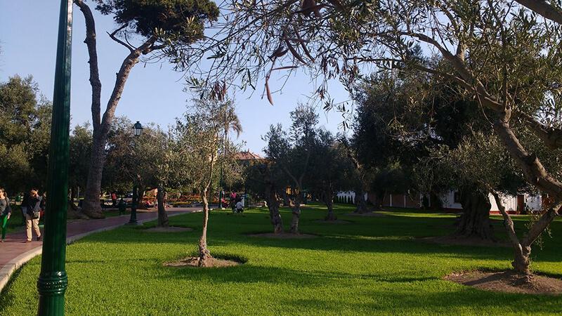 Parque el Olivar em Lima