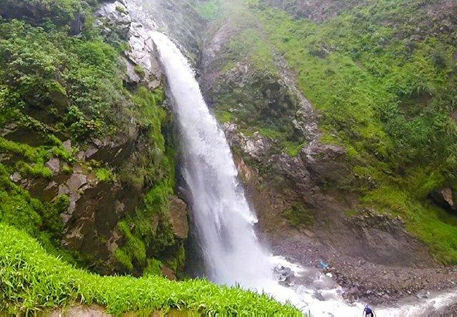 Cachoeira de Antankallo em Lima