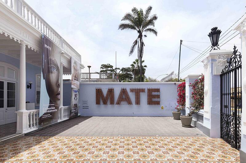 Hall de entrada do MATE: Museu Mario Testino em Lima