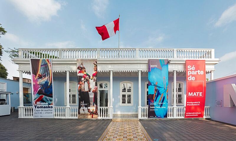 Entrada do MATE: Museu Mario Testino em Lima