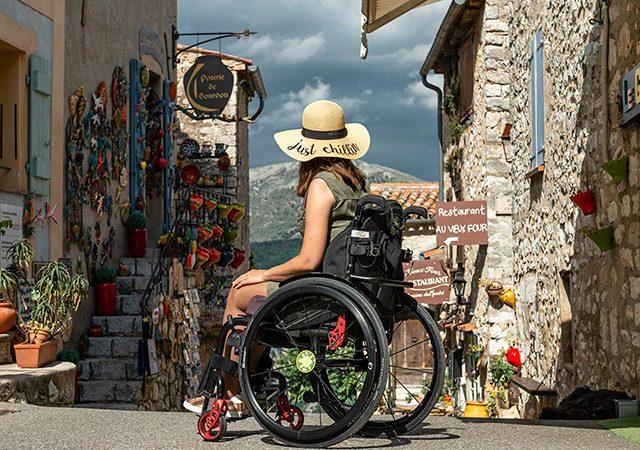 Deficientes físicos em Machu Picchu