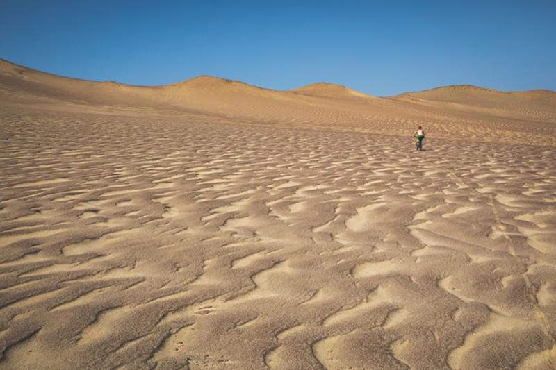 Deserto de Paracas no Peru