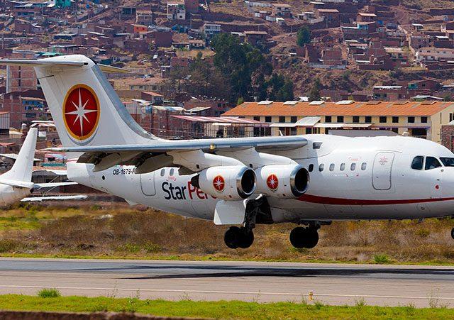 Companhias aéreas do Peru