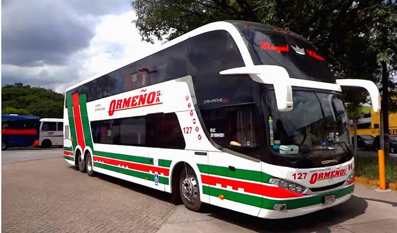 Ônibus Ormeño no Peru