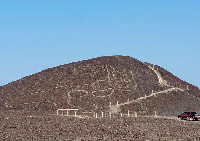 Linhas de Nazca no Peru