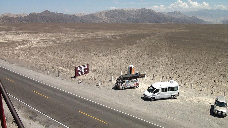 Estrada em Nazca