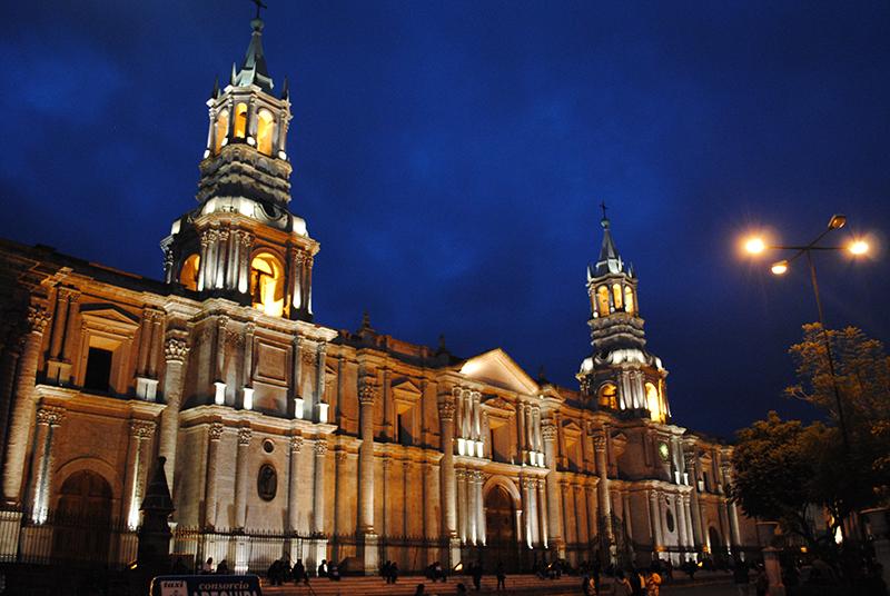 Visite a Catedral de Arequipa