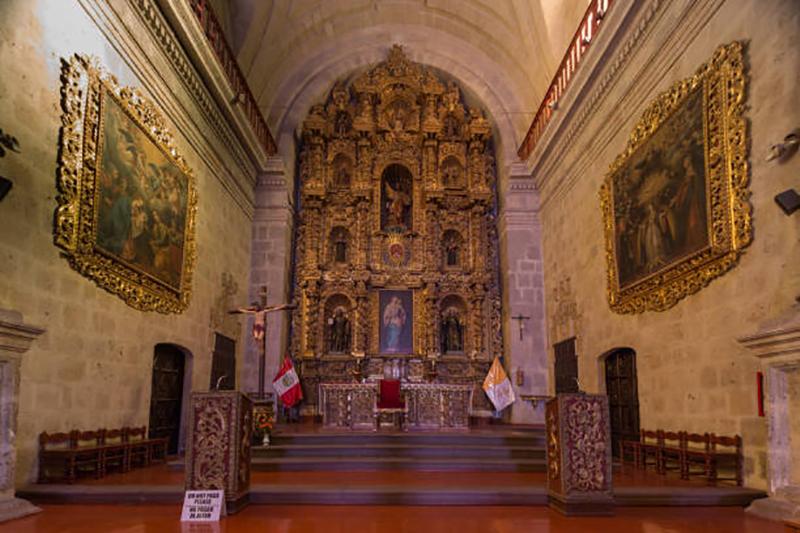 Igreja Jesuíta em Arequipa