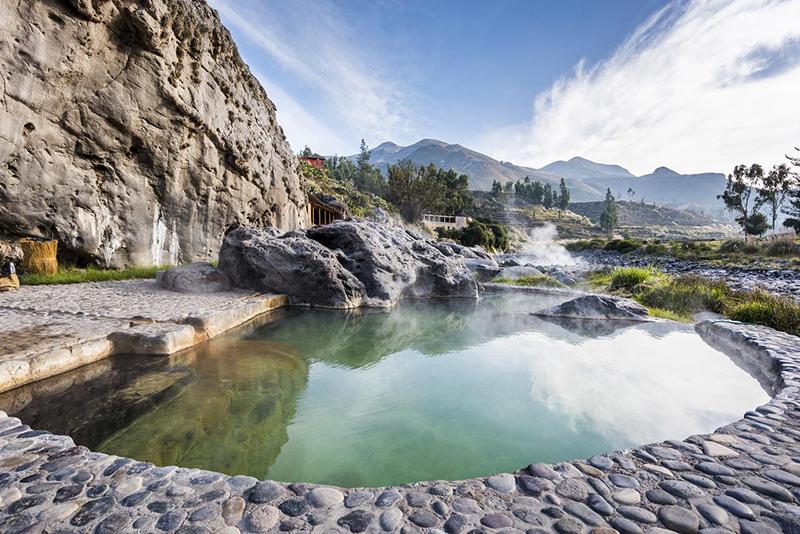 Águas termais La Calera em Arequipa