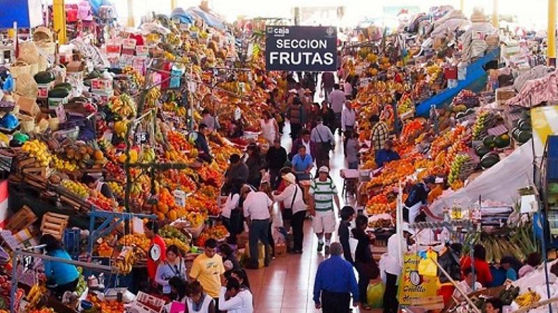 Mercado de San Camilo em Arequipa