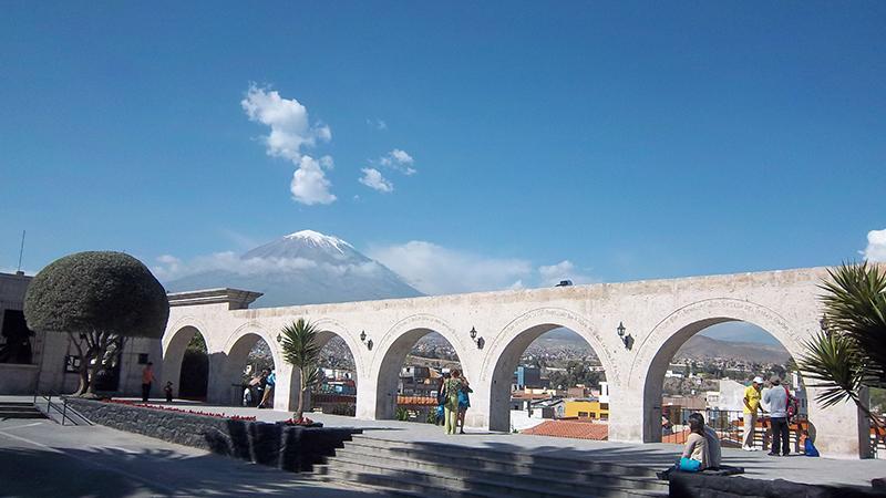 Mirador de Yanahuara em Arequipa