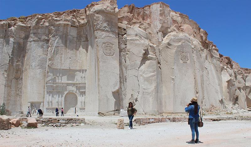 Cidade de pedreiras de Arequipa