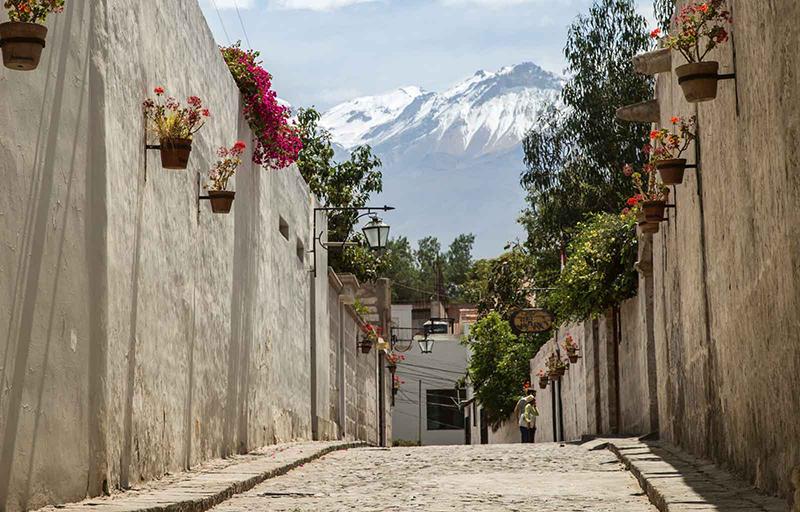 Passeio pelo bairro de San Lázaro em Arequipa