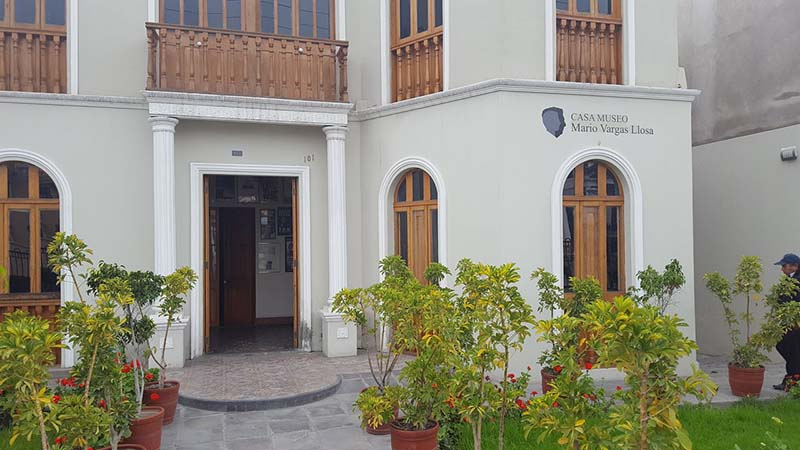 Casa Museu Mario Vargas Llosa em Arequipa
